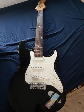 Guitarra Eléctrica y amplificador para auriculares