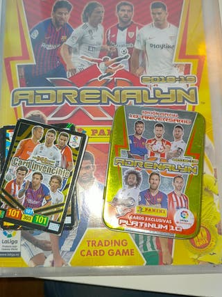 Cromos ADRENALYN 2018-2019