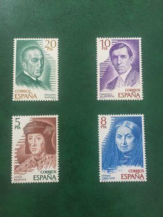 Sellos personajes españoles 1979