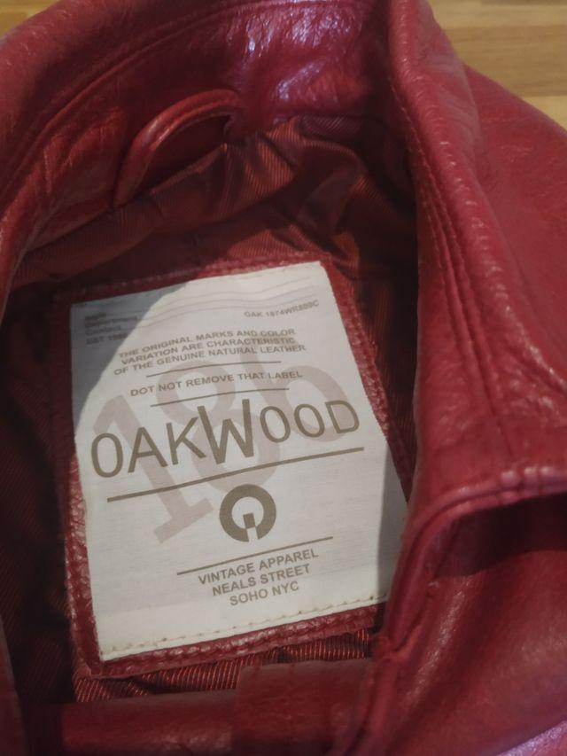 Chaqueta de cuero de Oakwood
