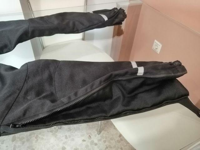 PANTALÓN MOTO DE CORDURA CON PROTECCIONES