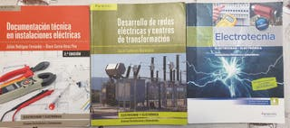 libros primer año grado superior electricidad