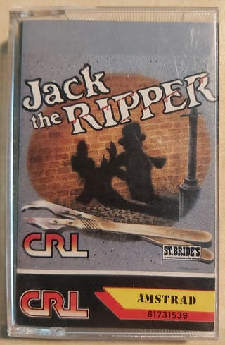 Jack the Ripper Amstrad Cinta