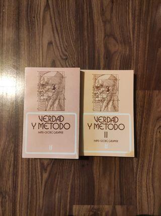 Verdad y Método Gadamer Filosofía
