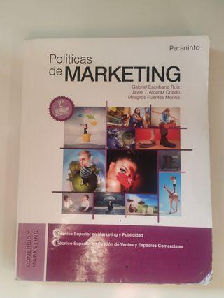 Libro Políticas de Marketing Grado Superior