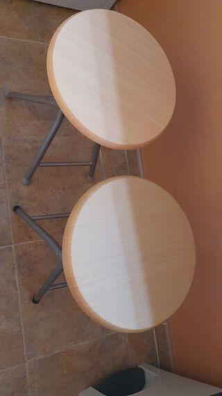 Taburete/Banqueta madera