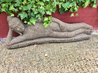 Buda escultura jardín