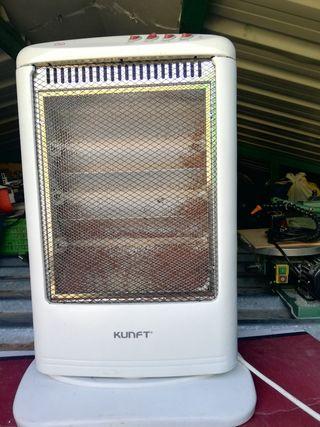 Se vende estufa halógena eléctrica