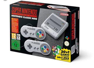 Nintendo Classic mini edición súper nintendo