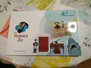 libro música 4° de primaria