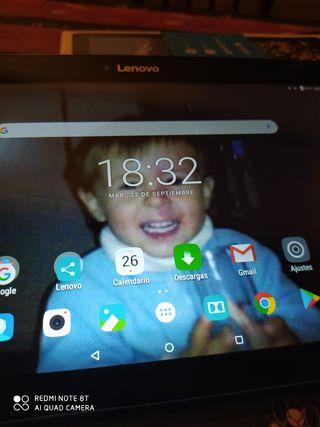 tablet lenovo casi sin uso