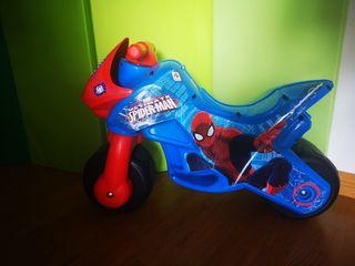 Correpasillos Moto Spiderman