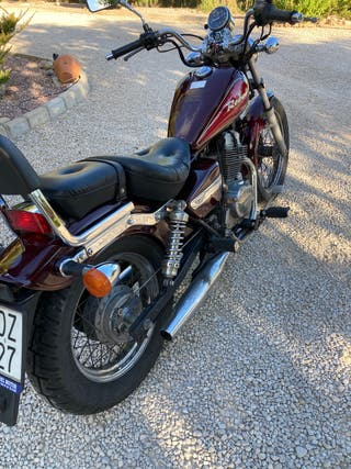Moto honda rebel 250 cmx