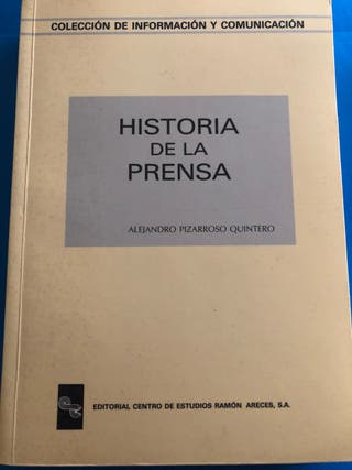 "LIBRO ""HISTORIA DE LA PRENSA"""
