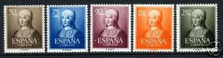 SELLOS DE ESPAÑA DESDE 1950 HASTA 2011