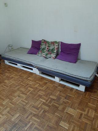 Palets sofa