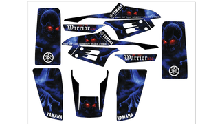 Adhesivos quad Yamaha Warrior 350