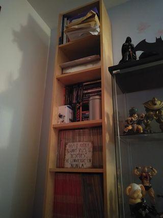 Estantería/librería de madera.