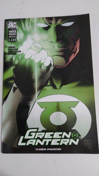 comics linterna verde