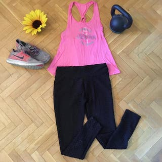 Conjunto deportivo camiseta top + leggings NUEVO