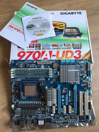 Pack - Placa base Gigabyte + CPU AMD + 16GB RAM