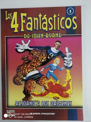comics ; Los 4 fantasticos