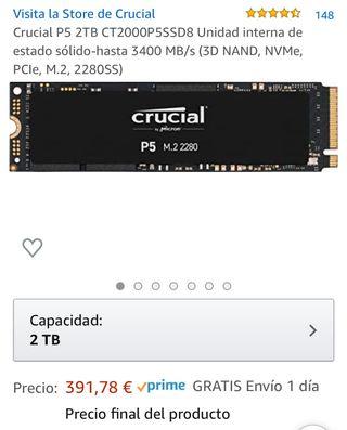 Disco duro SSD M.2 2TB NUEVO