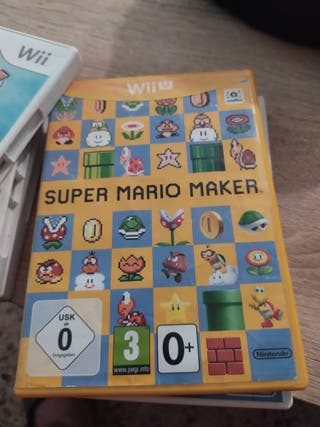 super Mario maker wii