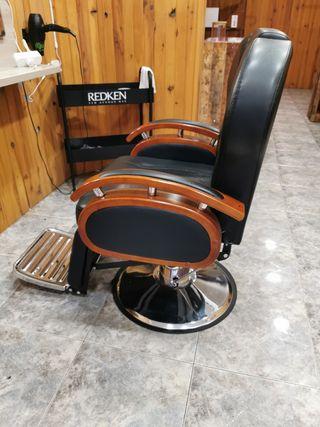 2 sillones barbero