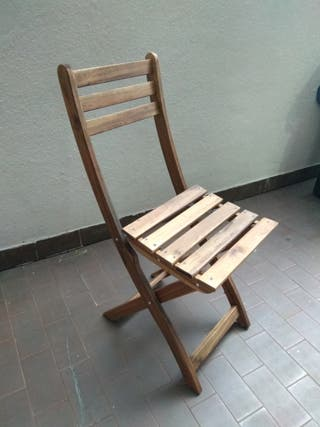 dos sillas madera ikea
