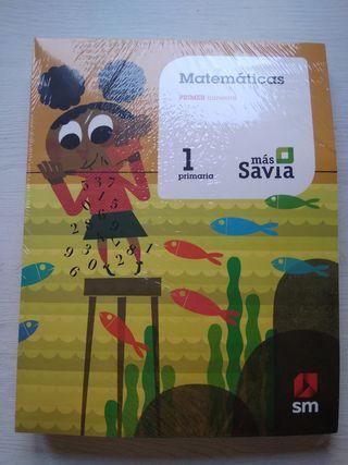 Libro de texto Matemáticas 1°Primaria.Smmás Savia