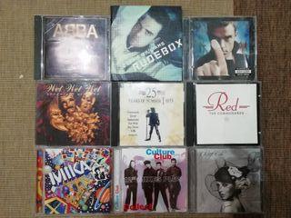 LOTE 9 CD's