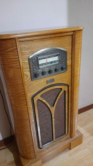 Radio antiguo Años 80
