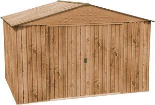Caseta metálica imitación madera HerculesCaseta