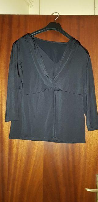 Camiseta negra talla M