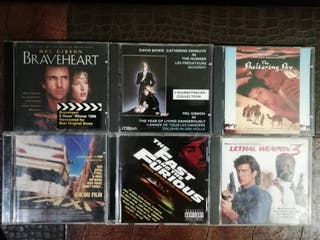 lote CD's BSO's