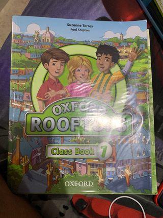 Libro inglés Oxford Rooftops 1 primaria