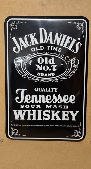 Chapa de Jack Daniel's