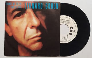 Disco de Vinilo Single Promo Leonard Cohen Dance