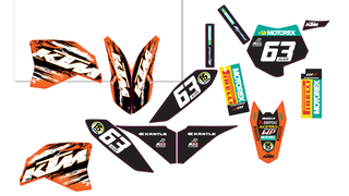 Kit de adhesivos KTM SX 50