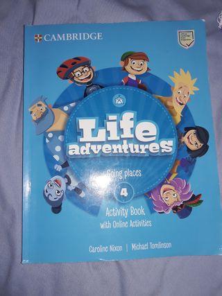 libro de inglés cuarto de primaria