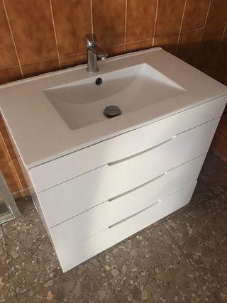Mueble cajones lavabo