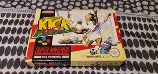 kick off super nintendo