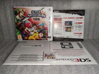 super smash bros Nintendo 3ds como nuevo