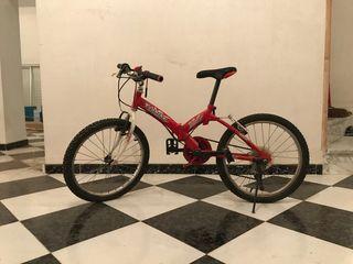 Bicicleta juvenil plegable