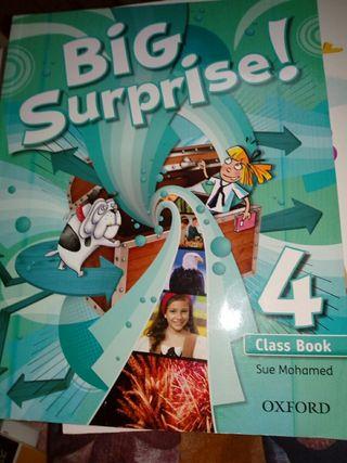 libro inglés Oxford 4 primaria Big surprise