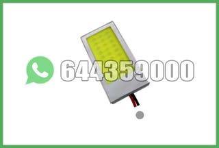 PLACA LED RECTANGULAR CON ADAPTADORES