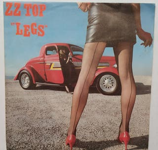 Disco de Vinilo Single Promo ZZ Top Legs