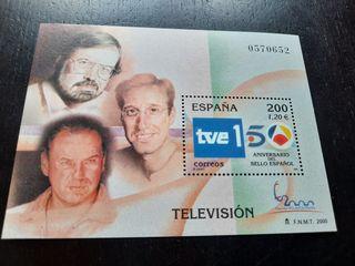 Televisiones Españolas Sello Oficial 2000