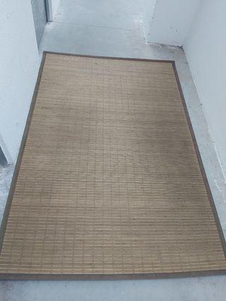 alfombra de bambú 180x120 cm